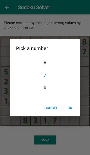 Sudoku Solver - Scanner app using camera goodtube screenshots 6