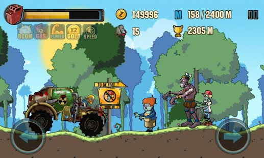 Zombie Road Racing Screenshot