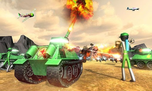 Battle Simulator World War 2 – Stickman Warriors 1.8 Mod + Data Download 3