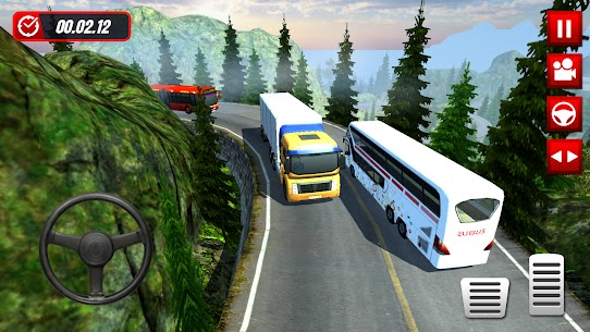 Hill Station Bus Driving Game [MOD Version] 1