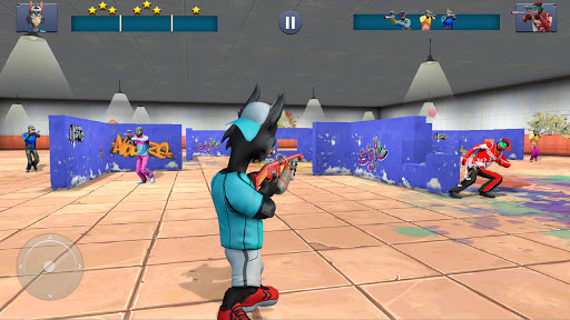 Paintball Shooting Games 3D apkpoly screenshots 5