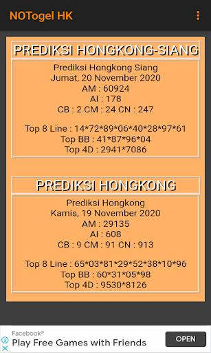 NOTogel HK android2mod screenshots 3