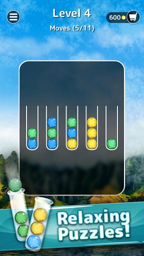 Ballscapes: Ball Sort Puzzle & Color Sorting Games  screenshots 1
