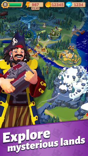 Merge Master: Adventure Puzzle screenshots 1