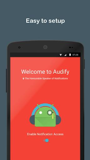 Audify Notifications Reader 3.5.0 Screenshots 6