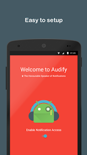 Audify Notification Reader MOD (Premium) 1