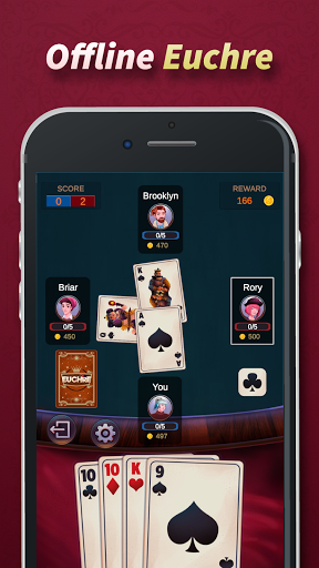 Euchre - Free Offline Card Games 1.1.9.6 screenshots 8