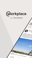 screenshot of Workplace from Facebook