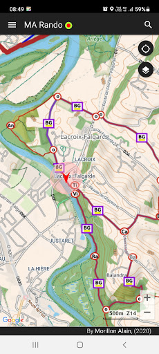 GPS for Hiking, Cycling, Hunting and offline maps modavailable screenshots 4
