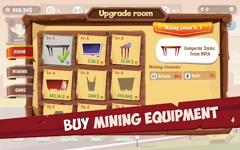 Mining Simulator – Idle Clicker Tycoon Mod Apk (Unlimited Energy) 3