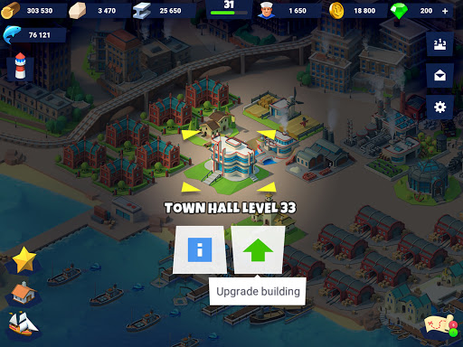 Sea Port: Cargo Ship & Town Build Tycoon Strategy 1.0.151 screenshots 21