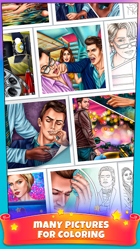 Color By Number Secrets - Coloring book & Stories 1.3.13 Screenshots 1