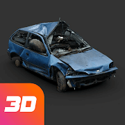 Crash test simulator: destroy car sandbox & drift