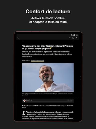 L'Express I Actualités, Infos, France, Monde  screenshots 13