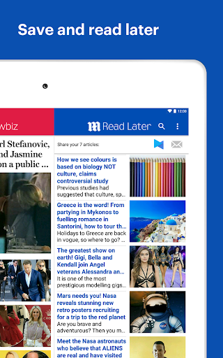 Daily Mail Online screenshots 9