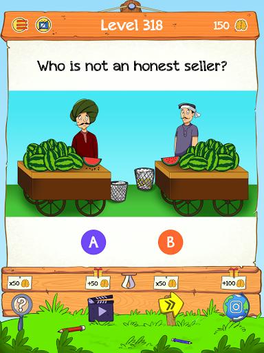 Braindom 2: Who is Lying? Fun Brain Teaser Riddles 1.2.8 Screenshots 9