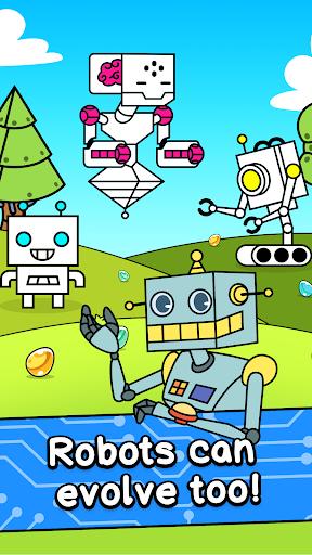 Robot Evolution - Clicker Game  screenshots 1
