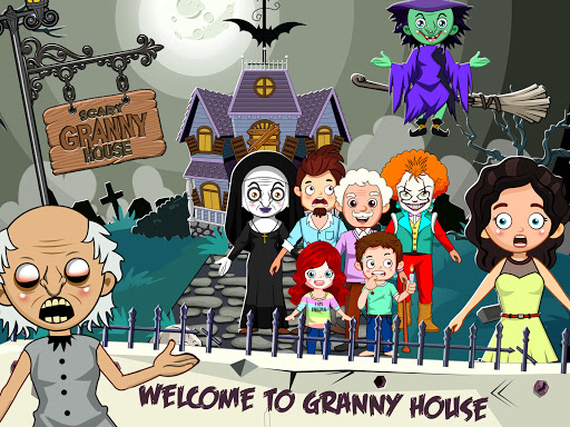 Mini Town: Horror Granny House Scary Game For Kids 2.2 screenshots 6