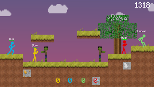 Stickman vs Multicraft: Survival Craft Pocket  screenshots 1