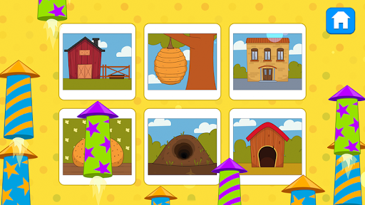 Blue Tractor Games for Toddlers 2 Years Old! Pre K apkmr screenshots 7
