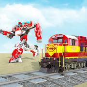 Flying Train Robot Transforming: Robot Games