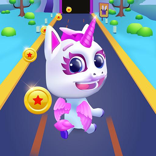 Unicorn Runner 2. Magical Running Adventure
