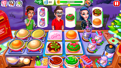 Christmas Fever : Cooking Games Madness 1.0.7 screenshots 1