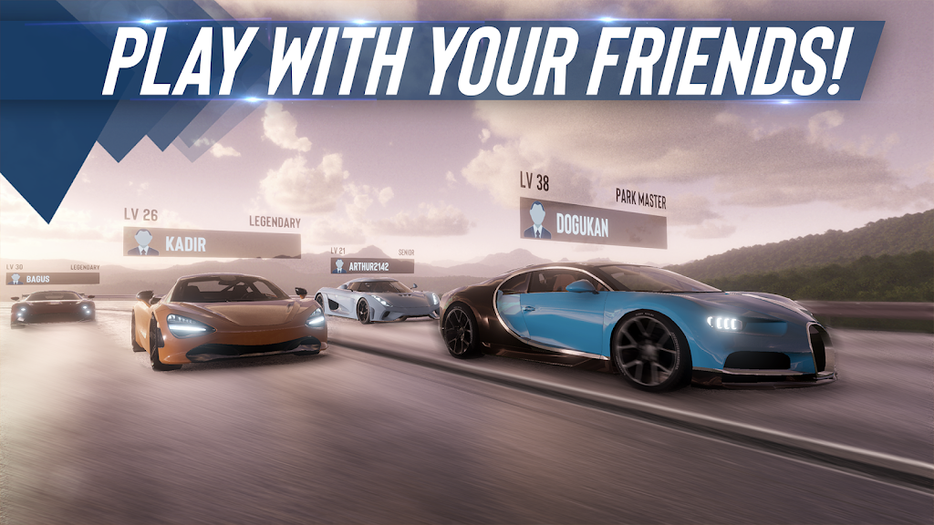 Real Car Parking Master : Multiplayer Car Game  poster 1