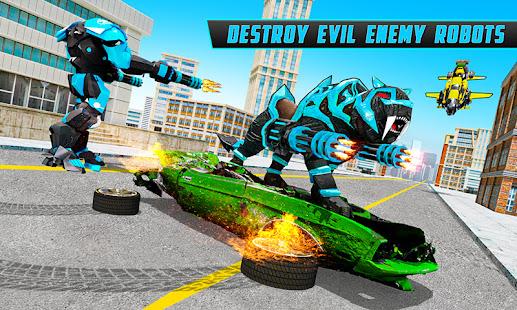 Panther Robot Transform Games 19.7.0 screenshots 2