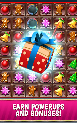 Christmas Crush Holiday Swapper Candy Match 3 Game 1.90 screenshots 3