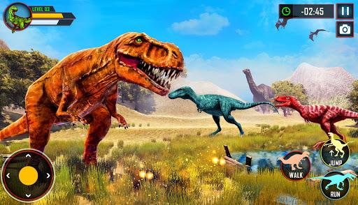 Wild Dino Family Simulator: Dinosaur Games android2mod screenshots 9