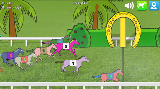 Hooves of Fire Horse Racing Game: Stable Manager 4.23 screenshots 1