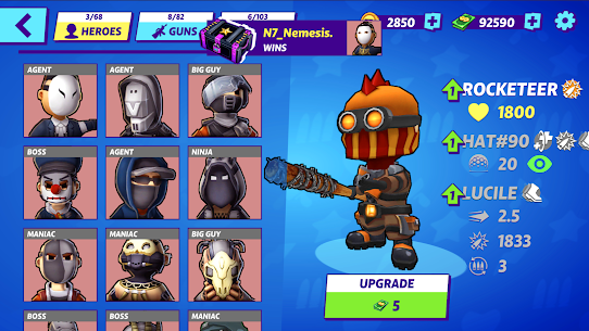 Warriors.io MOD APK Download [Free Shopping] 5