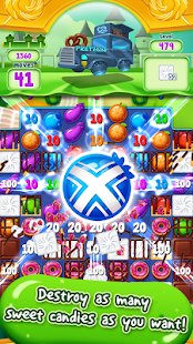 Food Burst: An Exciting Puzzle Game Screenshot
