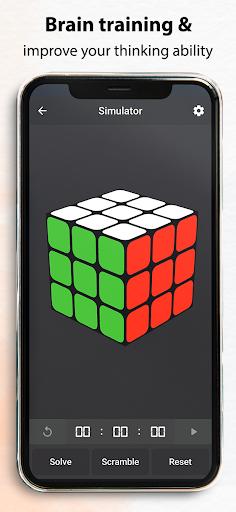 Rubik's Cube : Simulator, Cube Solver and Timer 1.0.4 screenshots 14