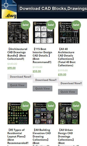 CAD DWG Download 1.0 Screenshots 2