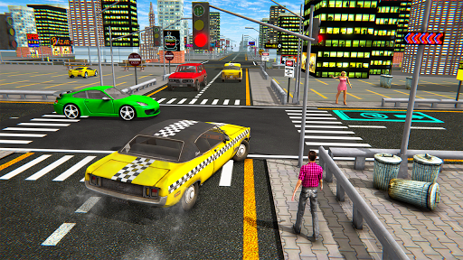 Extreme Taxi Driving Simulator - Cab Game apkdebit screenshots 15