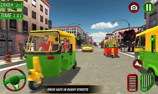 Tuk Tuk Auto Rickshaw Driver 2019:City Parking 1.5 screenshots 11