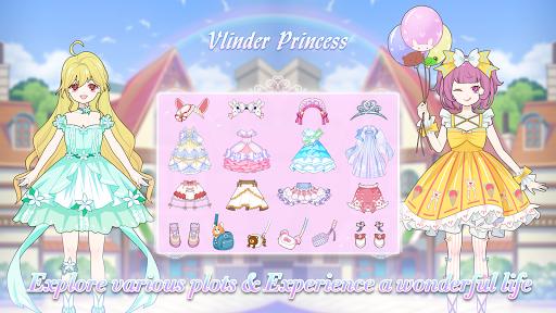 Vlinder Princess - Dress Up Games, Avatar Fairy android2mod screenshots 13