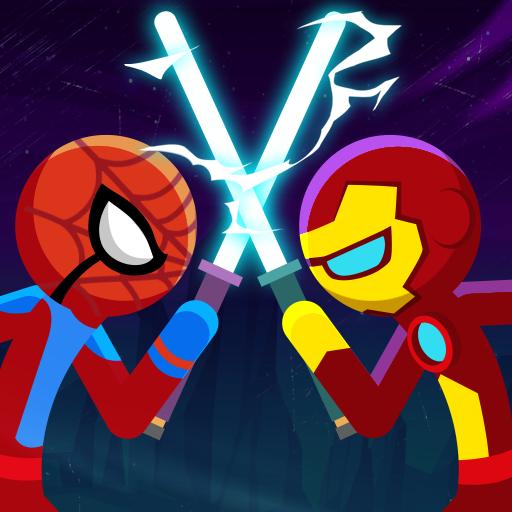 Stickman War: SuperHero Fight