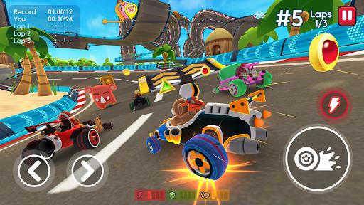 Télécharger gratuit Starlit On Wheels: Super Kart APK MOD 1