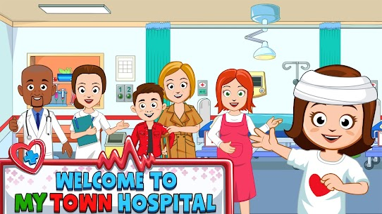 My Town : Hospital For Android [MOD, Paid] 1