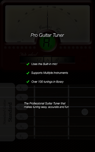 Pro Guitar Tuner 3.1.10 Screenshots 8