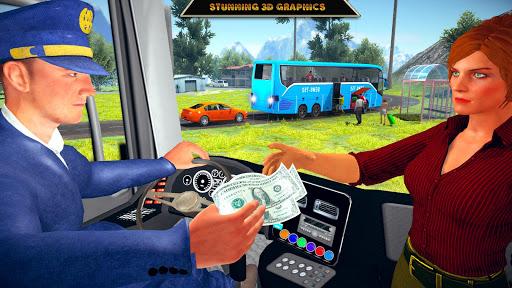 Offroad Bus Driving Simulator 2019: Mountain Bus apktram screenshots 8