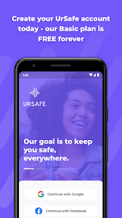 Personal Security & Travel Safety App - UrSafe