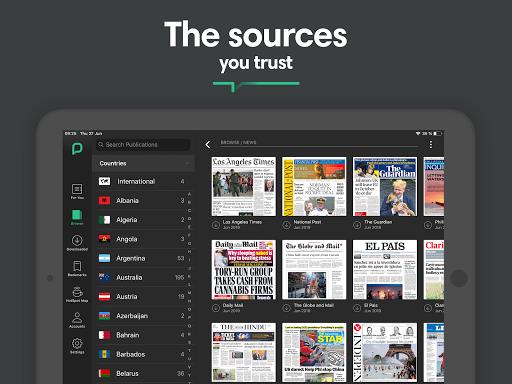 PressReader: Newspapers & Magazines 6.1.201112 Screenshots 12