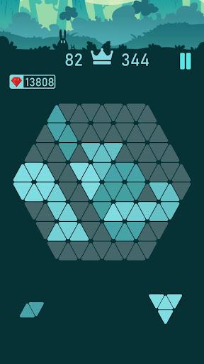 Trigon : Triangle Block Puzzle Game  screenshots 2