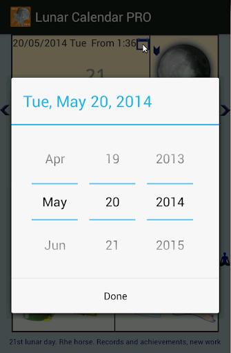 lunar calendar pro screenshot 2