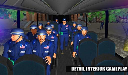 US Police Bus Mountain Driving Simulator  screenshots 9
