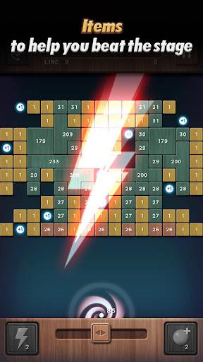 Swipe Brick Breaker: The Blast apkpoly screenshots 5